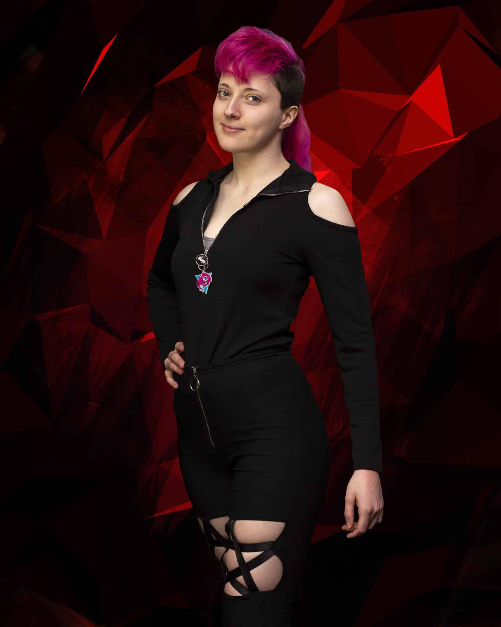 "ShiSha Rainbow as Harley Quinn in ""Harley Quinn - Blazing Shadows"""