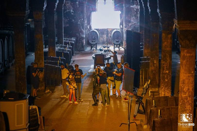 Monastery Eberbach behind the scenes of the Overwatch movie Lion's Return