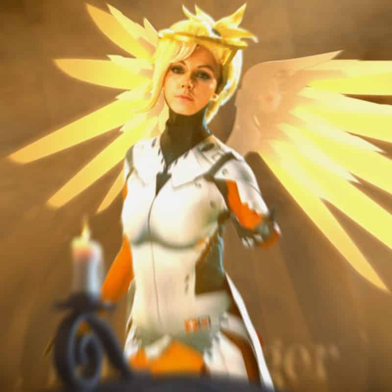 liechee cosplay mercy overwatch blizzard entertainment fanfilm
