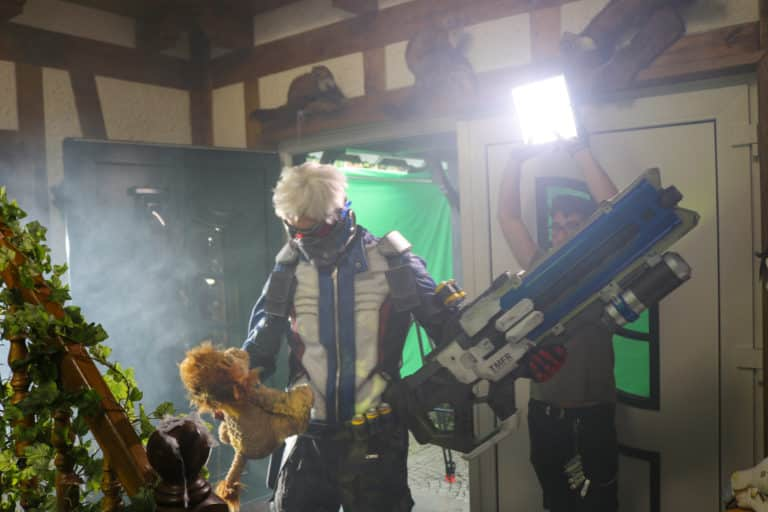 soldier76 actor in live action videogame overwatch movie