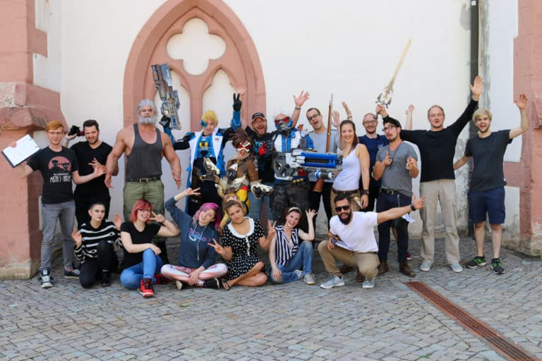 cast and crew of overwatch movie by think big studios