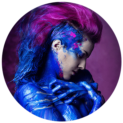 ShiSha Rainbow head of creative departments and makeup artist at Think Big Studios