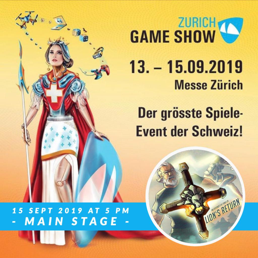 Overwatch Cinematic Short Screening on the Zurich Game Show